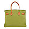 Bi-color-anis-green-potiron-orange-replica-hermes-birkin